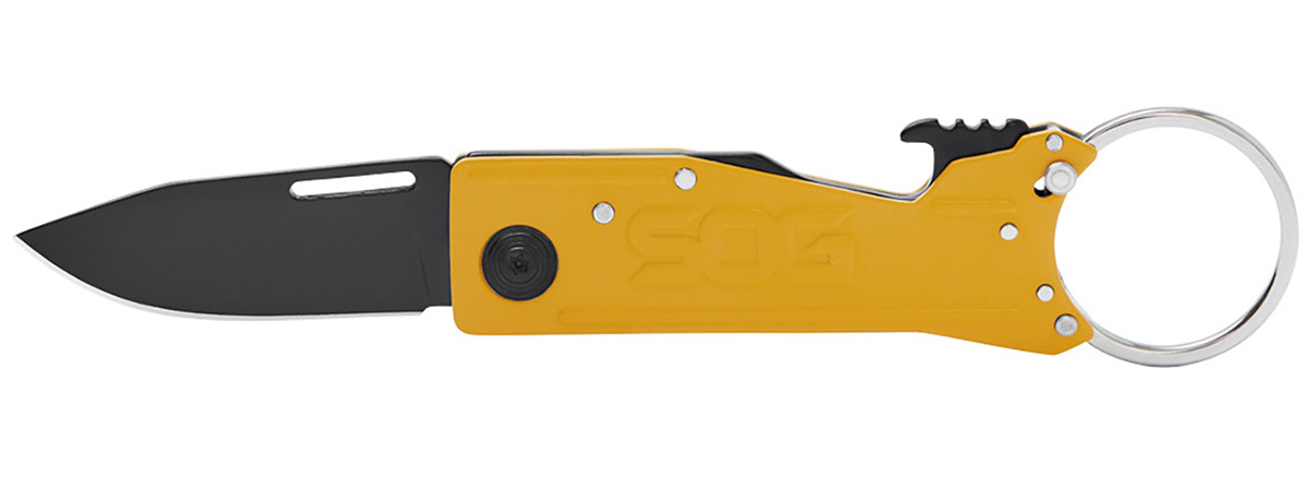 SOG Keytron Caution Yellow